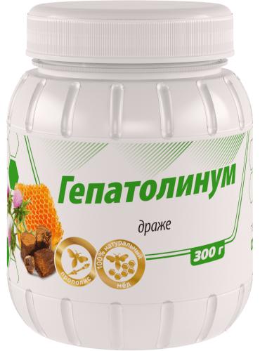Драже ГепатоЛинум, 300г