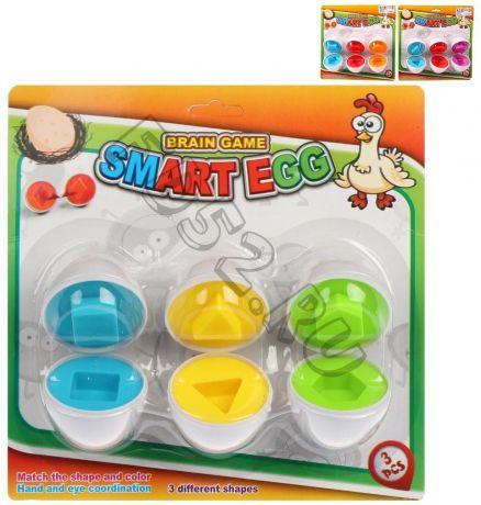 Сортер-яйцо, набор 6 предм., блистер 942815