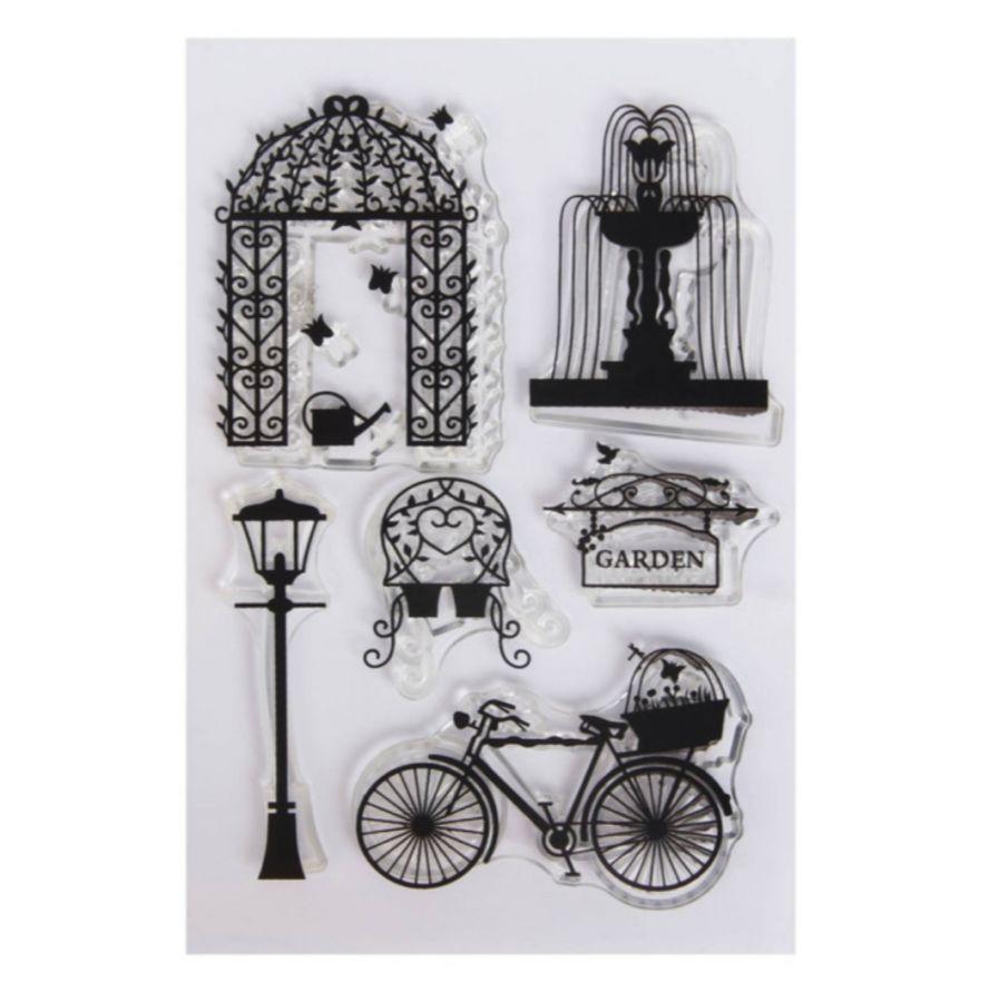 Набор штампов №38, Велосипед