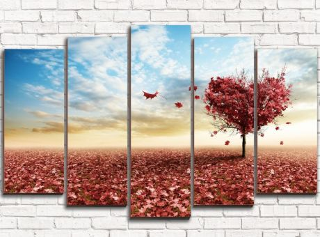 Модульная картина Дерево любви