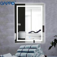 Зеркало для ванной с подсветкой Gappo G601