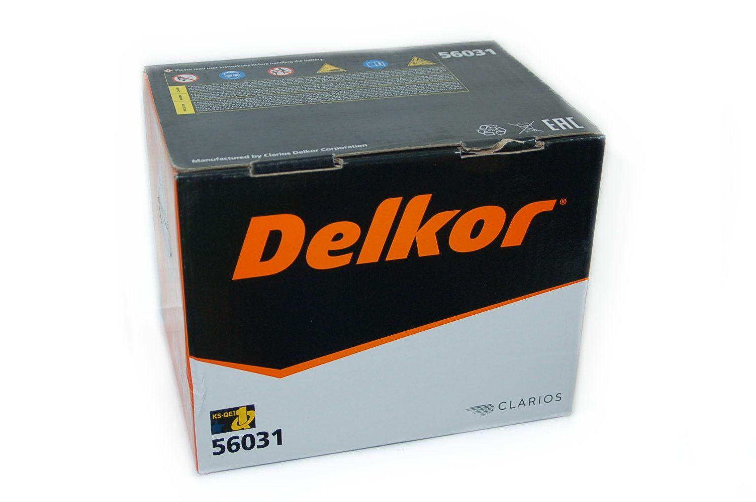 Аккумулятор Delkor 60Ач в заводской упаковке