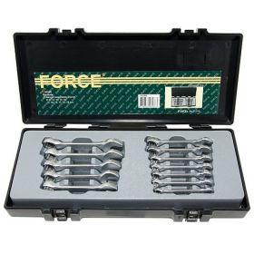 51214 Набор укороченных комбинированных ключей в кейсе FORCE