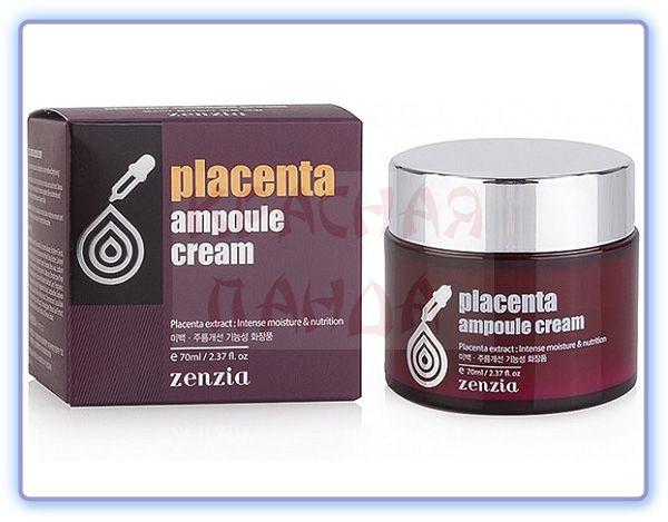 Крем для лица с фитоплацентой Zenzia Placenta Ampoule Cream