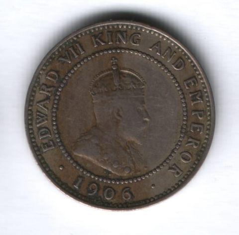 1/2 пенни 1906 года Ямайка