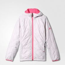 Женская двусторонняя куртка adidas Women's Alploft Jacket белая