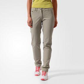 Женские спортивные штаны adidas Women's Climaheat Comfort Pant's бежевые