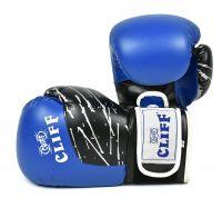 Перчатки боксерские CLIFF, PRO STAR (DX)  12 oz синие