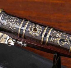 Настольная зажигалка Мушкет на подставке