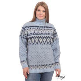 Свитер женский вязаный из Исландской шерсти 04120-02