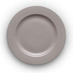 Тарелка круглая Legio Nova D25 см серая