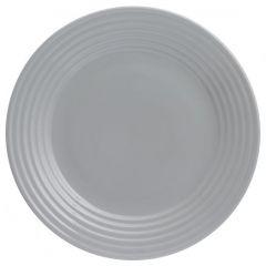Тарелка обеденная Living D 27 см серая