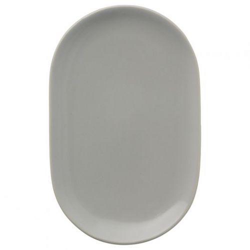Тарелка сервировочная Cafe Concept 19,6х12,5 см серая