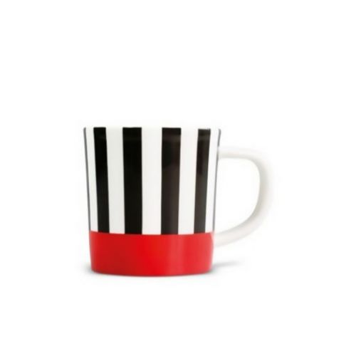 Чашка для эспрессо с блюдцем Remember, Black stripes, 75 мл