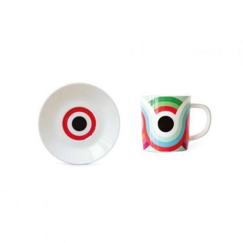 Чашка для эспрессо с блюдцем Remember, Faro, 75 мл