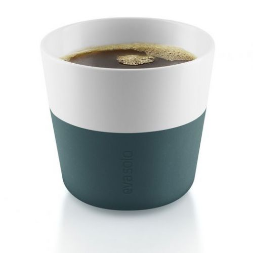 Чашки для лунго 2 шт 230 мл бирюзово-синий