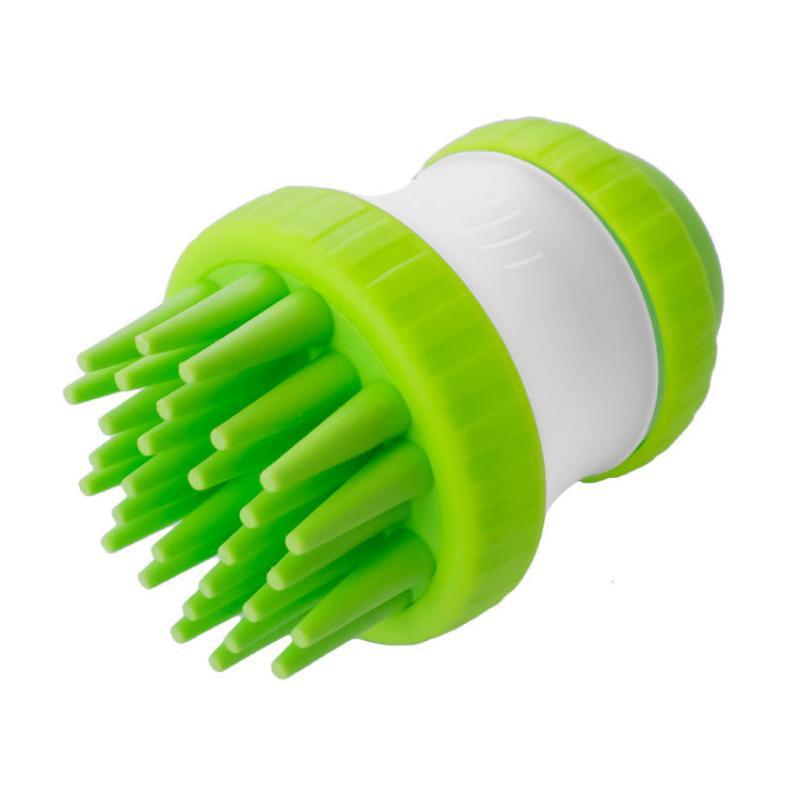 Щетка для животных Cleaning Device The Gentle Dog Washer, Зеленая