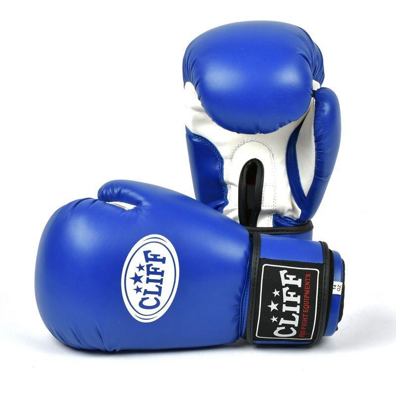 Перчатки боксерские CLIFF, DRAGON Classic (FLEX)  12 oz синие