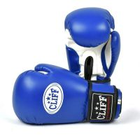 Перчатки боксерские CLIFF, DRAGON Classic (FLEX)  8 oz синие