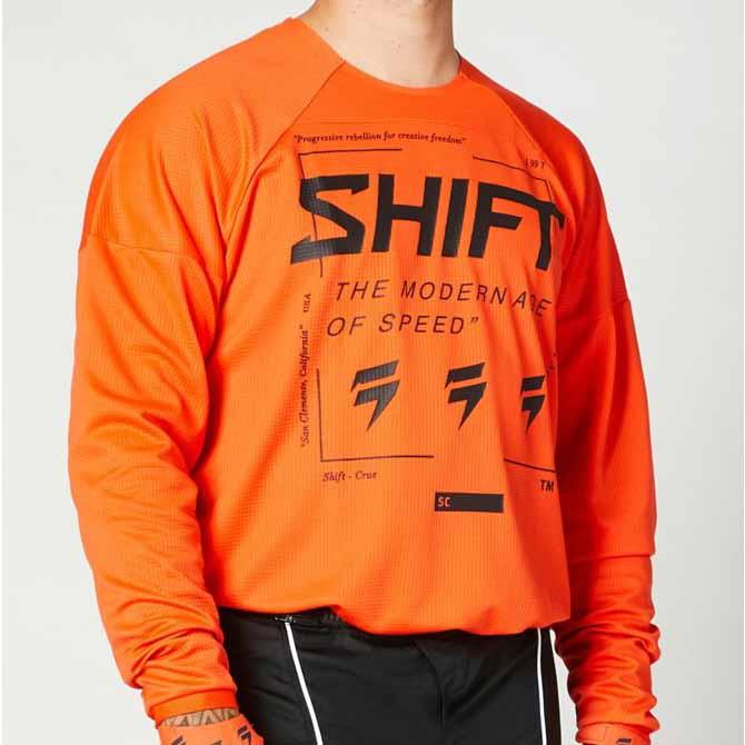 Shift White Label Bliss Blood Orange джерси для мотокросса