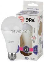 Лампы СВЕТОДИОДНЫЕ СТАНДАРТ LED A65-21W-860-E27  ЭРА (диод, груша, 21Вт, хол, E27)