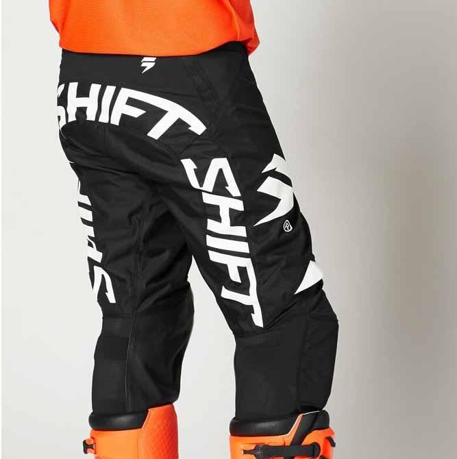 Shift White Label Rokr Black/White штаны для мотокросса