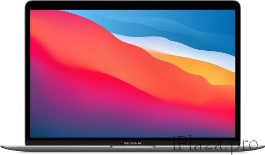 Apple MacBook Air (M1, 2020) 8 ГБ, 256 ГБ SSD, «серый космос», MGN63RU/A