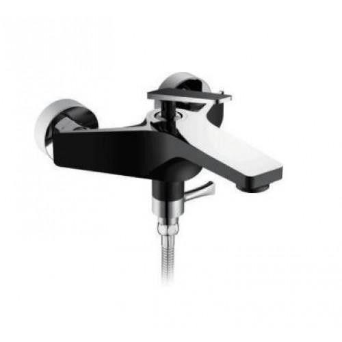 Черный смеситель для ванны Frap F3257