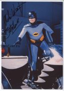 Автограф: Адам Уэст. Бэтмен (1966). Редкость