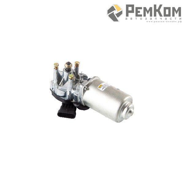 RK04071 * 2123-3730000 * Мотор стеклоочистителя для а/м 2110-2112,1118, 2170, 2123 переднего (евроразъем, тонкий вал)