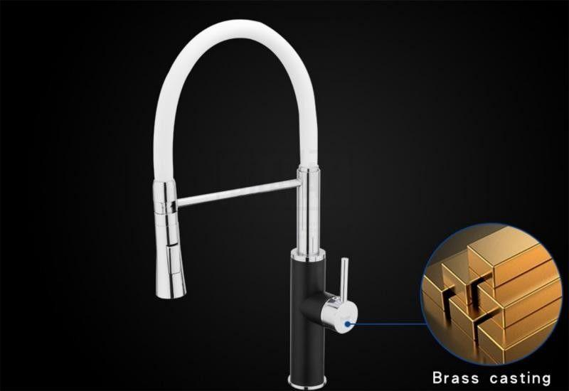 Смеситель для кухни с гибким изливом Frap F4452-7