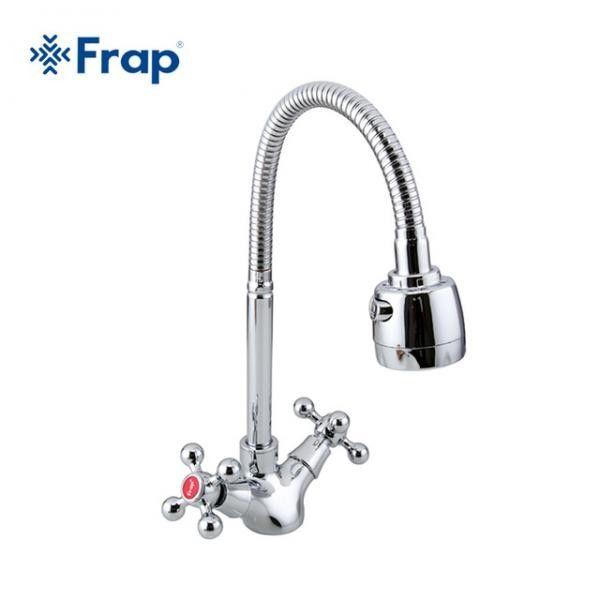 Смеситель для кухни с гибким изливом Frap F4319