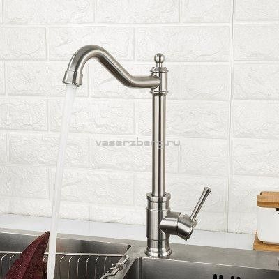 Смеситель для кухни из нержавеющей стали Frap F41899-4