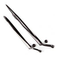 RK09006 * 2170-5205065/66 * Поводок стеклоочистителя для а/м 2170-2172 переднего со спойлером, комплект, левый+правый