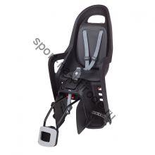 Заднее велокресло Polisport Groovy RS Plus черный/серый