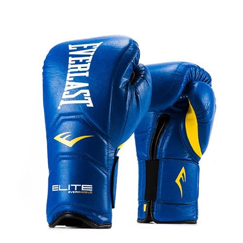 Перчатки тренировочные Everlast  на липучке Elite Pro 14oz син, артикул P00000680 14 BL