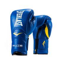 Перчатки тренировочные Everlast  на липучке Elite Pro 16oz син, артикул P00000680 16 BL