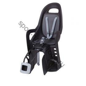 Заднее велокресло Polisport Groovy Maxi FF черный/серый
