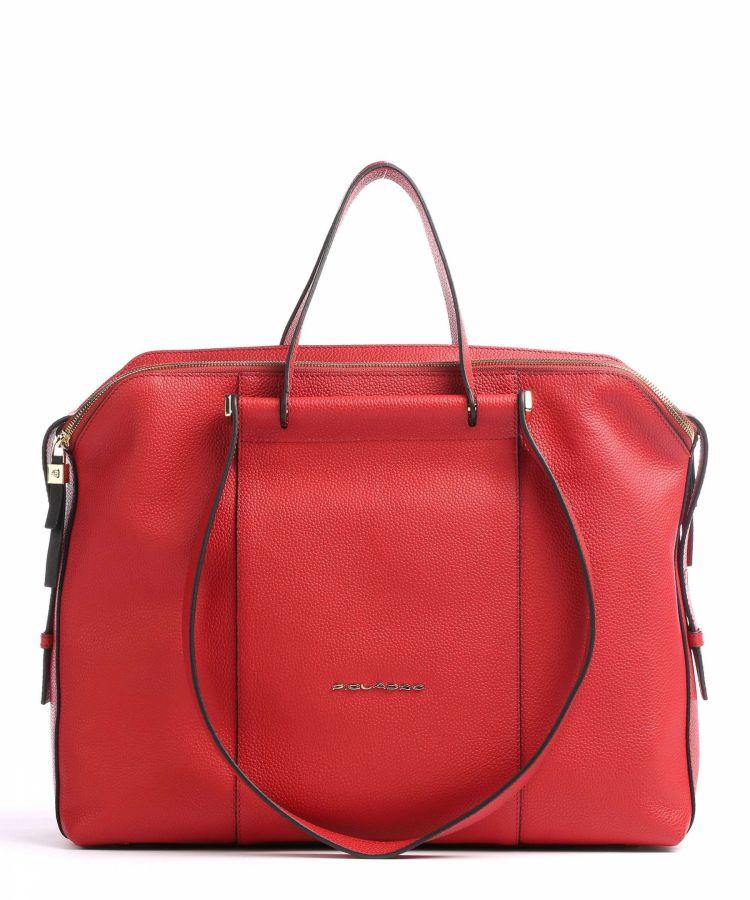 Женская кожаная сумка Piquadro BD4574W92/R2 красная