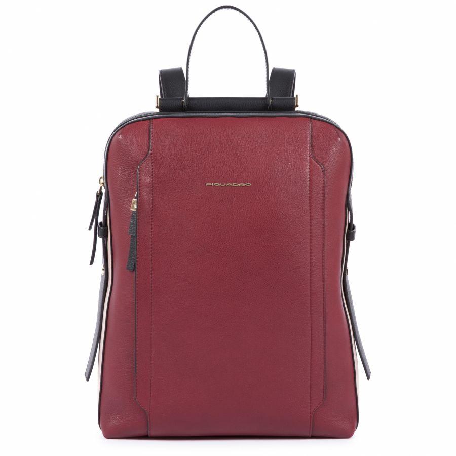 Женский кожаный рюкзак Piquadro CA4576W92/R бордовый
