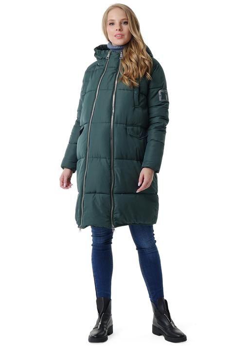 """Куртка зимн. 2в1 """"Окленд"""" для беременных бутылочный"""