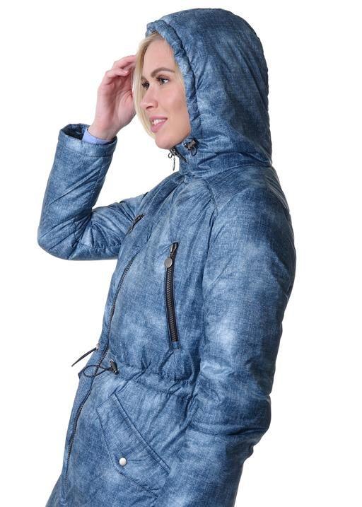 """Куртка демис 2в1 """"Мэрил"""" для беременных джинс"""