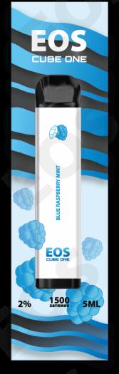 Электронная сигарета EOS CUBE ONE Blue Raspberry Mint