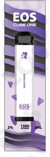 Электронная сигарета EOS CUBE ONE Grape Freeze