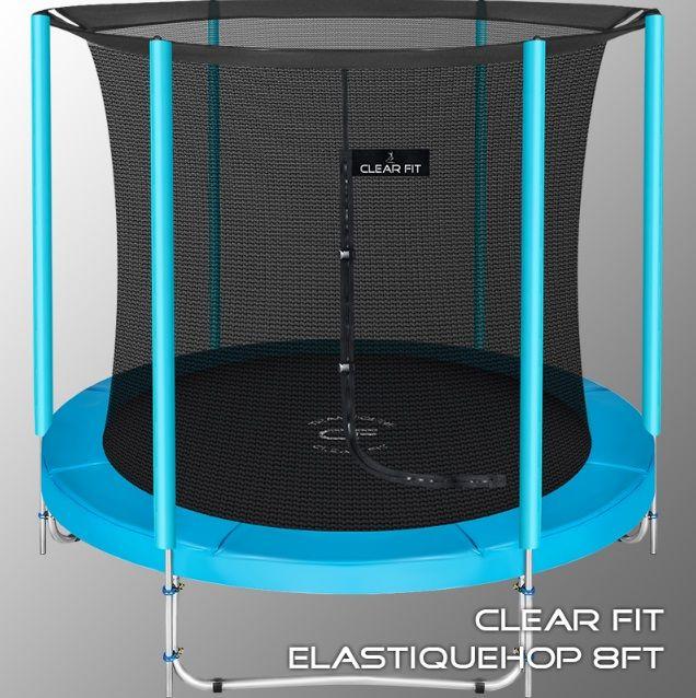Батут Clear Fit ElastiqueHop 8Ft