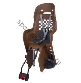 """Заднее велокресло Polisport JOY 29"""" коричневый/серый"""