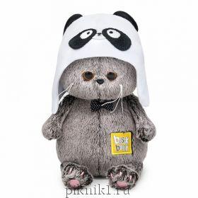 Басик BABY в шапке - панда