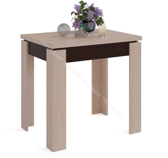 """Кухонный стол """"СО-1"""" раскладной Венге/Беленый дуб"""