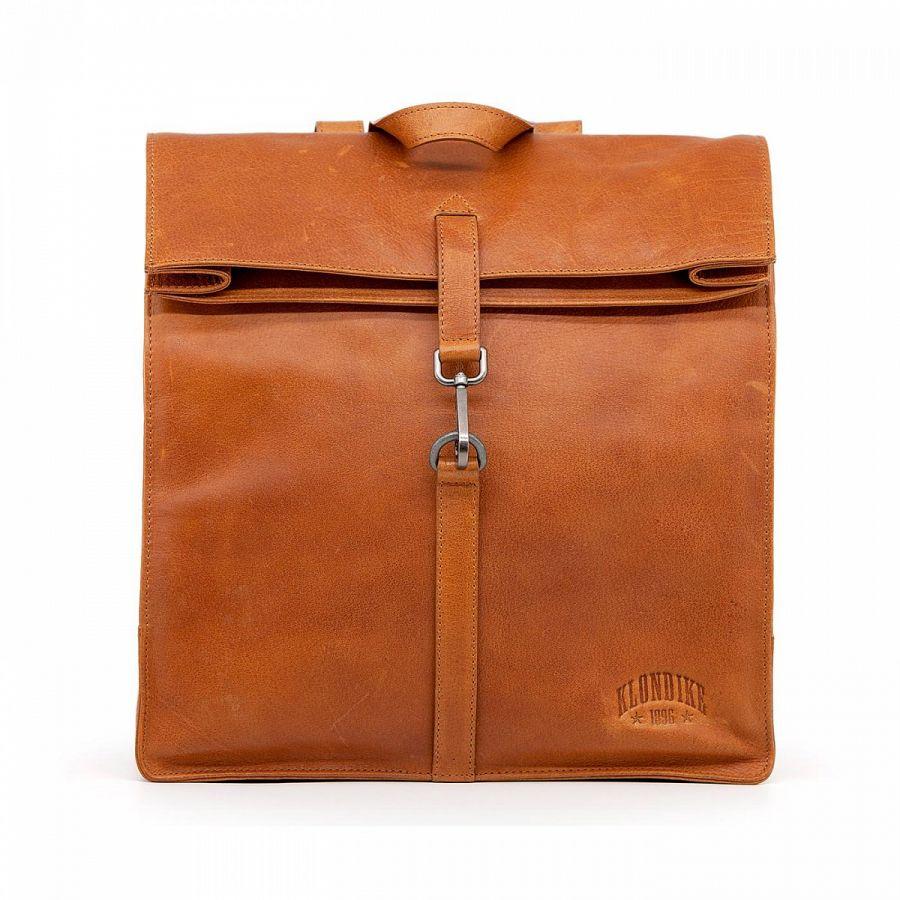 Женский кожаный рюкзак Klondike Digger Mara, цвета коньяк
