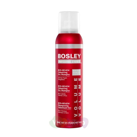 BOSLEY Шампунь сухой BOS RENEW VOLUMIZING DRY SHAMPOO, 100мл.